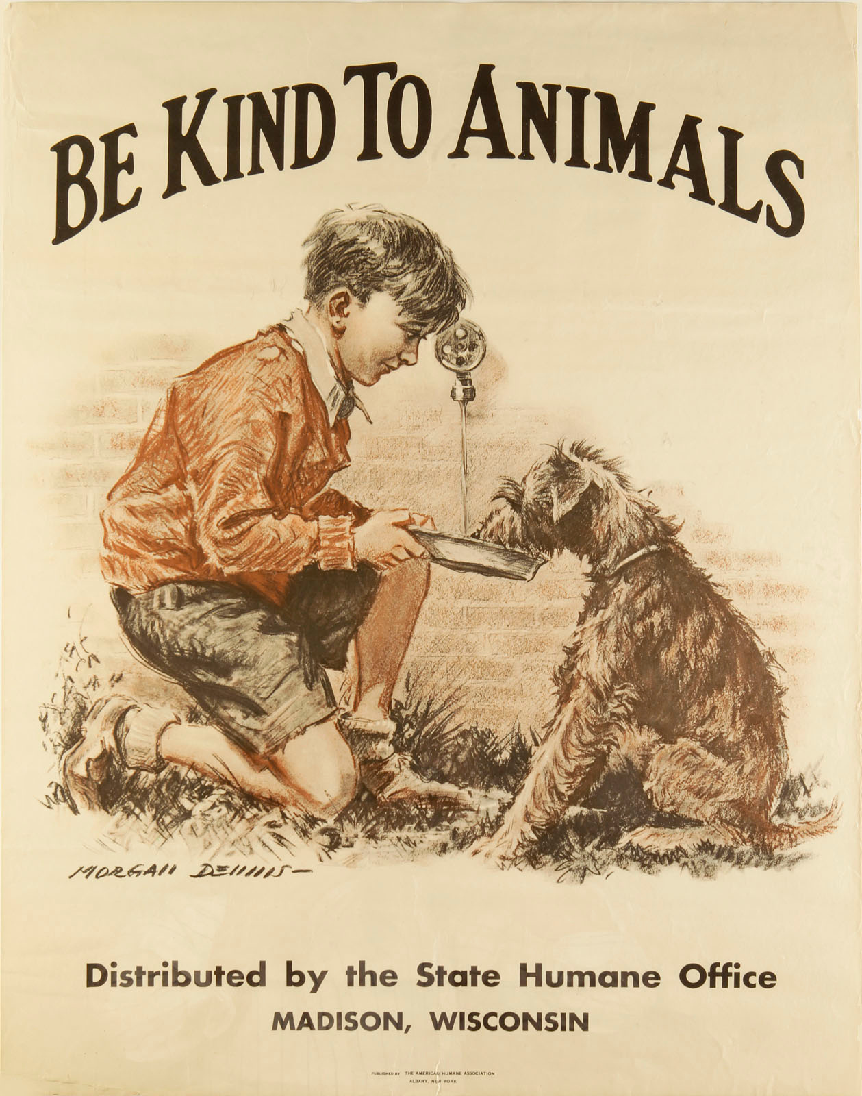 Morgan Dennis Be Kind A Visual History Of Humane Education